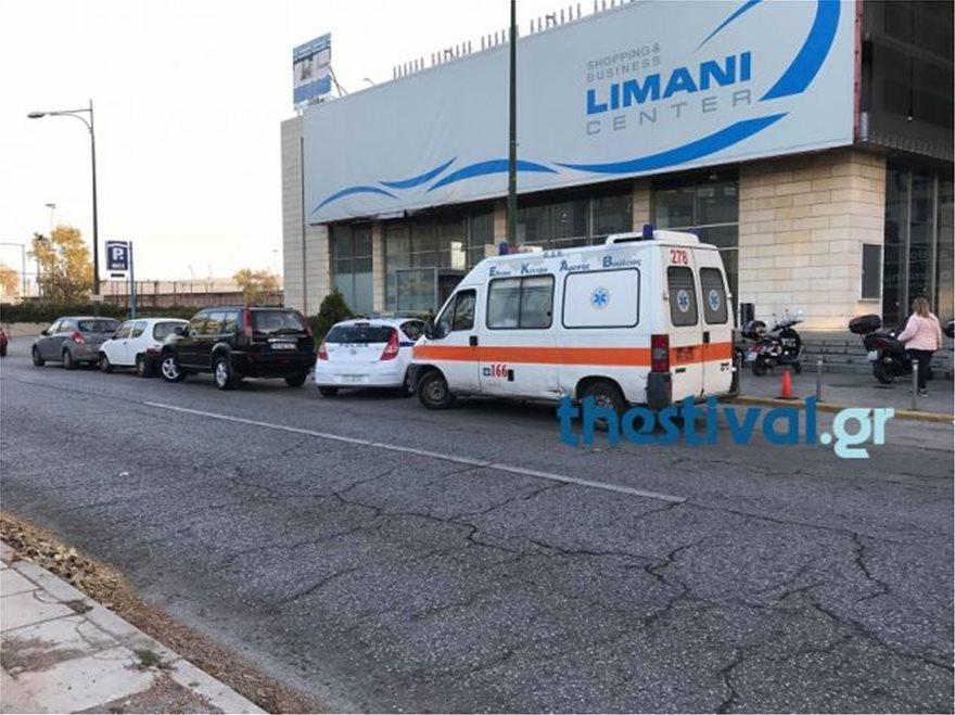thes22 - Θεσσαλονίκη: Άνδρας έπεσε από τον πέμπτο όροφο εμπορικού κέντρου