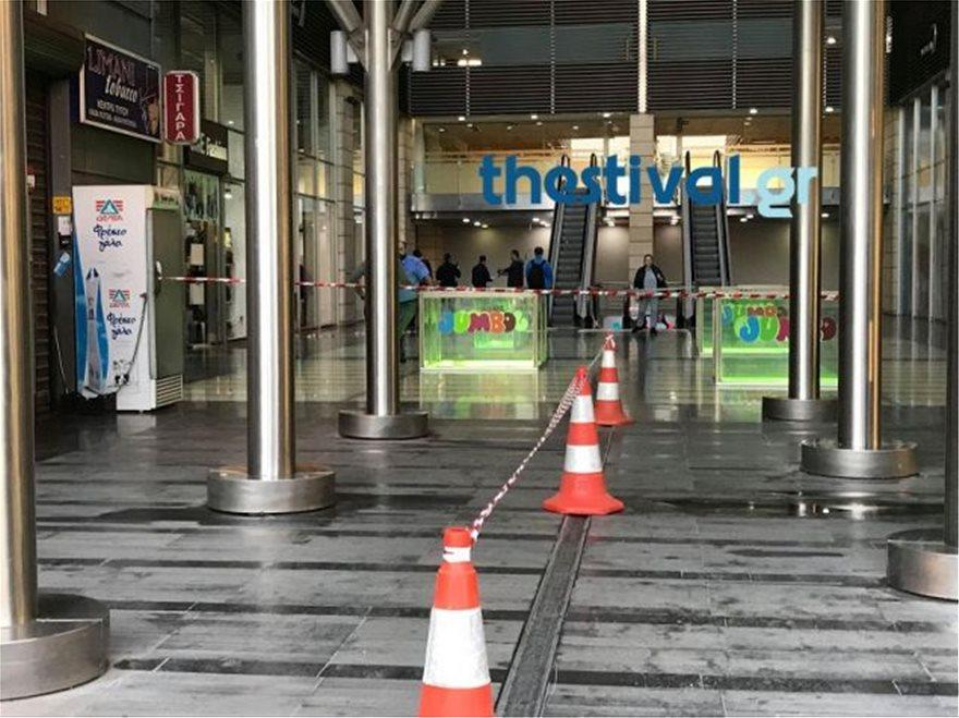 thes3 - Θεσσαλονίκη: Άνδρας έπεσε από τον πέμπτο όροφο εμπορικού κέντρου