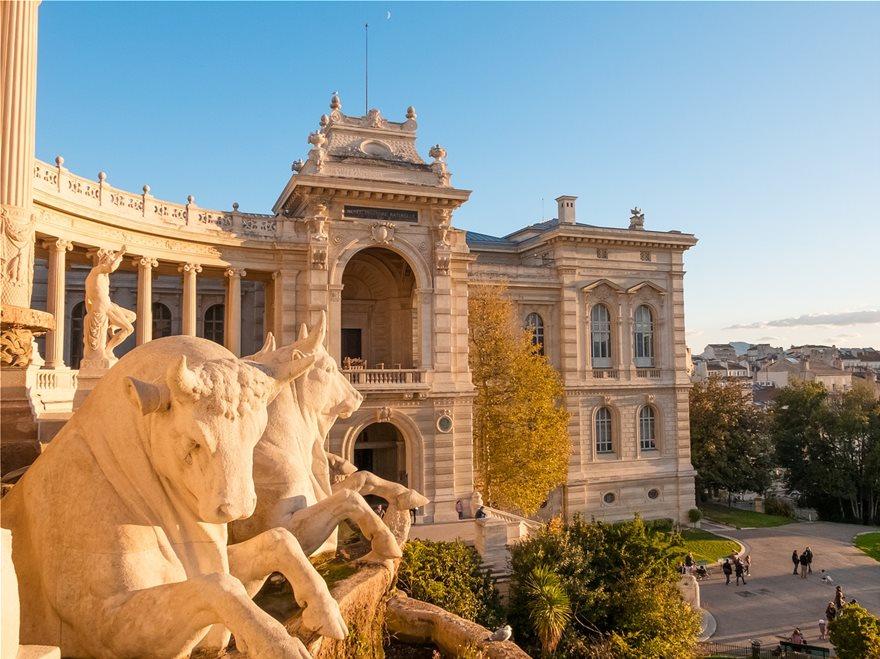 Το Palais Longchamp, ένα από τα πιο εντυπωσιακά ανάκτορα της Μασσαλίας