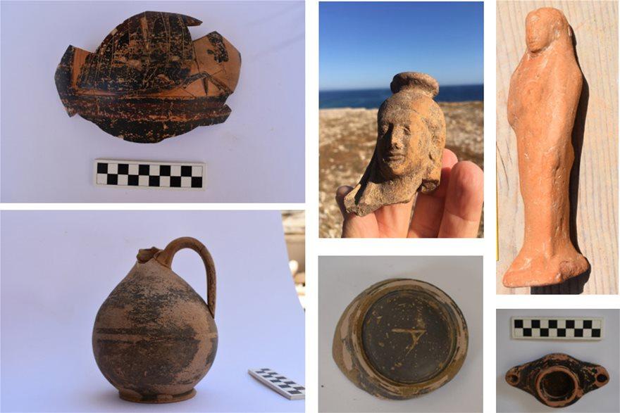 Ευρήματα από τη φετινή ανασκαφή