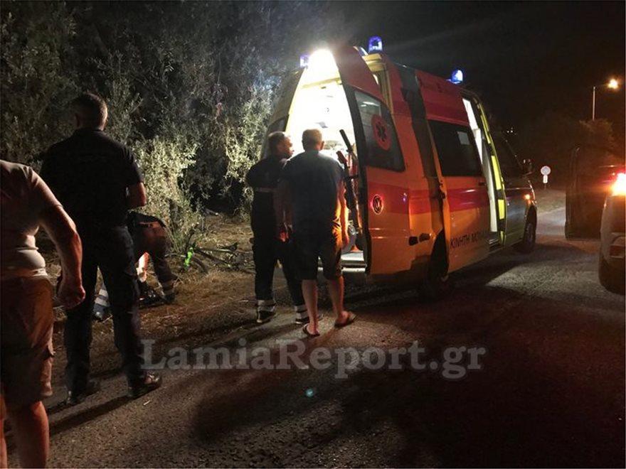 2  Τραγωδία στη Λαμία: Αυτοκίνητο έπεσε πάνω σε παιδιά με ποδήλατα - Σκοτώθηκε 15χρονος 2