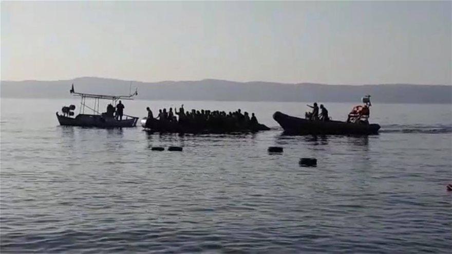 lesbos2  Ξύπνησαν μνήμες του 2015 στη Λέσβο: Σχεδόν 550 μετανάστες έφτασαν στο νησί μέσα σε μια μέρα! lesbos2