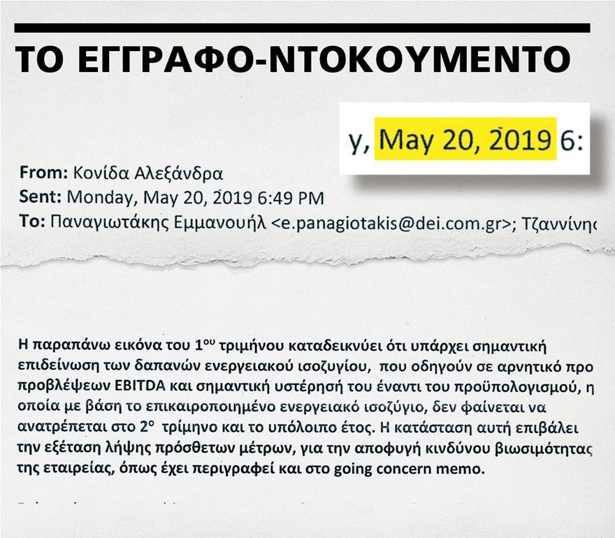 de02  Έγγραφο-ντοκουμέντο για τη χρεοκοπία της ΔΕΗ: Οι «εκλεκτοί» του ΣΥΡΙΖΑ ήξεραν και δεν έκαναν τίποτα de02