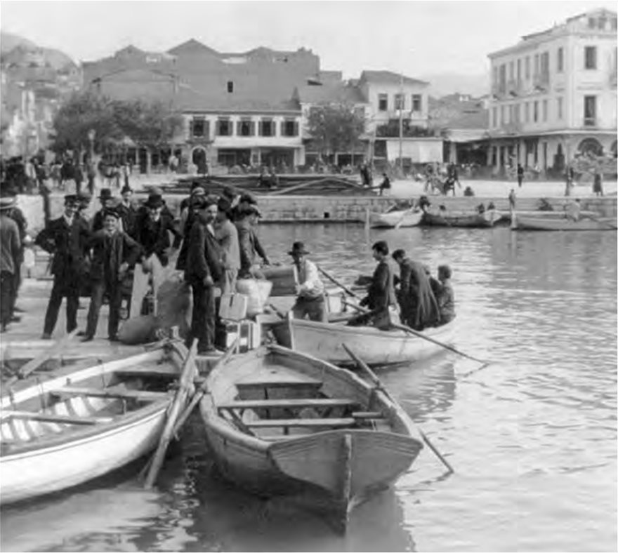 ellis--7-emigrants-boarding-small-boats-in-patras