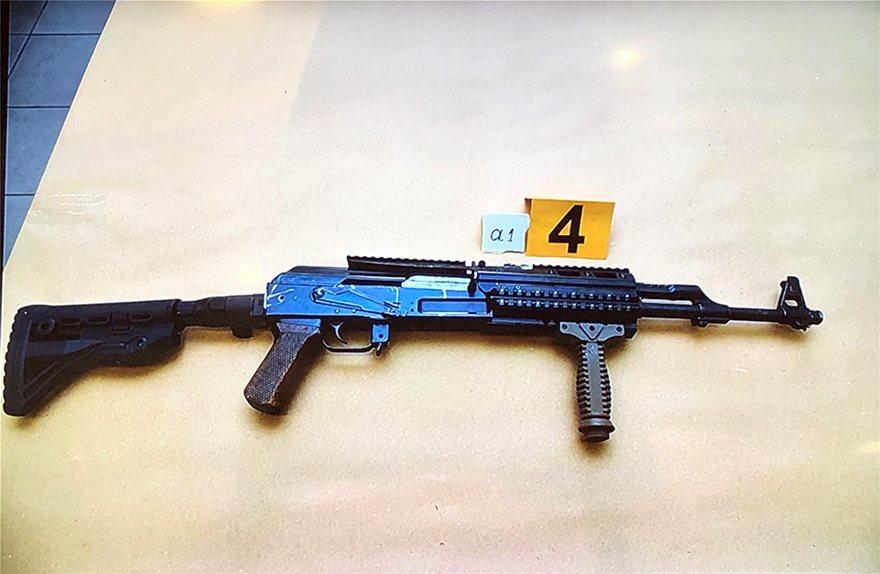 Το όπλο - σφραγίδα της οργάνωσης Επαναστατική Αυτοάμυνα