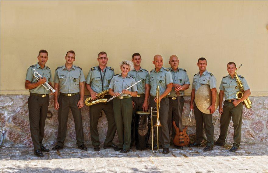 Jazz-Octet-Στρατιωτικης-Μουσικης-Φρουρας-Αθηνων