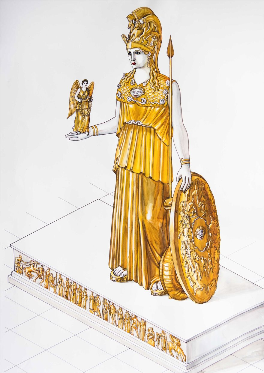To-Xαμενο-Αγαλμα-της-Αθηνας-Παρθενου