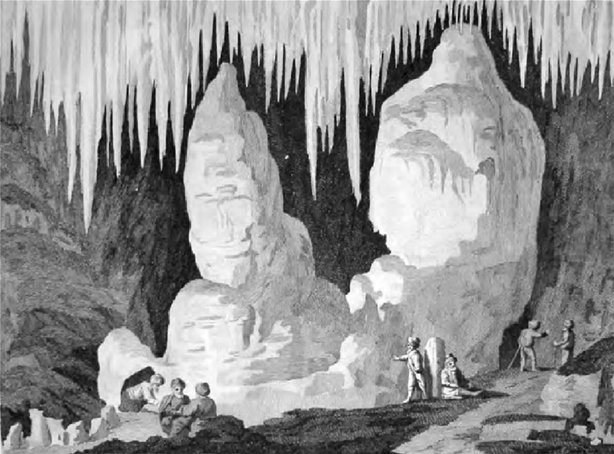 Copper-etching-of-the-big-stalagmite-of-the-Grotto-of-Antiparos-from-the-Dublin-edition