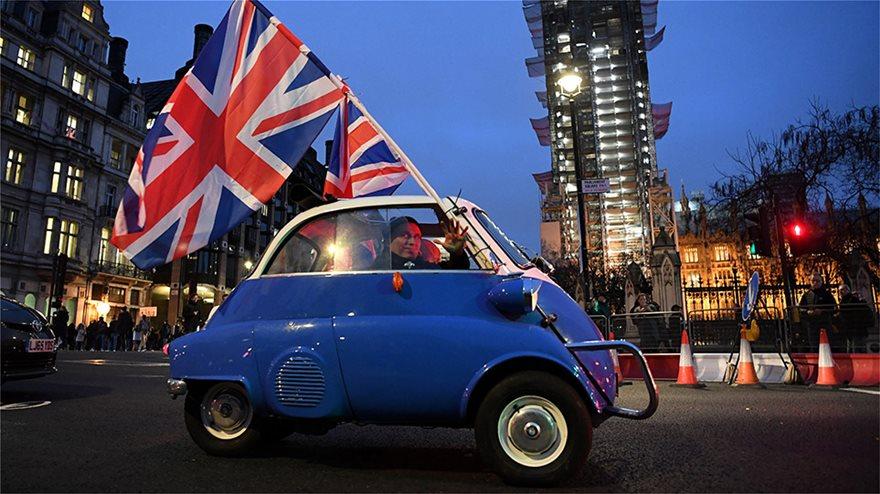 000_1OL2MB  Brexit: Τέλος χρόνου - Η Βρετανία δεν είναι πια μέλος της ΕΕ - Η επόμενη μέρα 000 1OL2MB