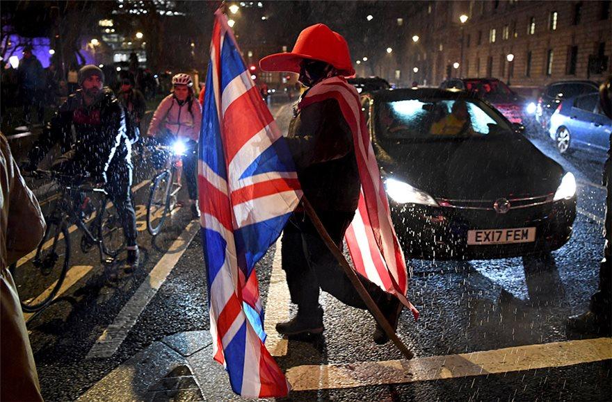 000_1OL3SO  Brexit: Τέλος χρόνου - Η Βρετανία δεν είναι πια μέλος της ΕΕ - Η επόμενη μέρα 000 1OL3SO