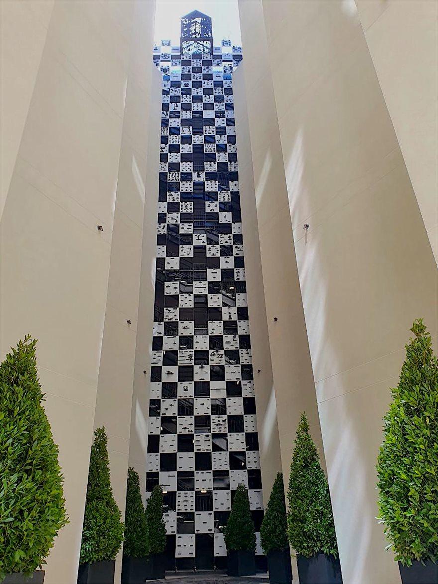 Mappemonde-atrium