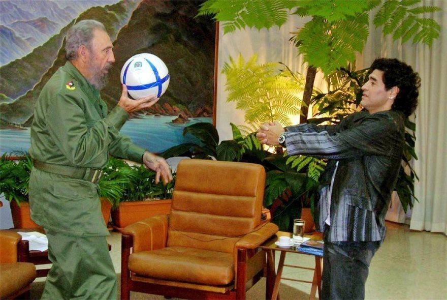 Φιντέλ Κάστρο - Μαραντόνα: «Έφυγαν» την ίδια μέρα - Η φιλία του ηγέτη της Κούβας με τον…. κομαντάντε των γηπέδων