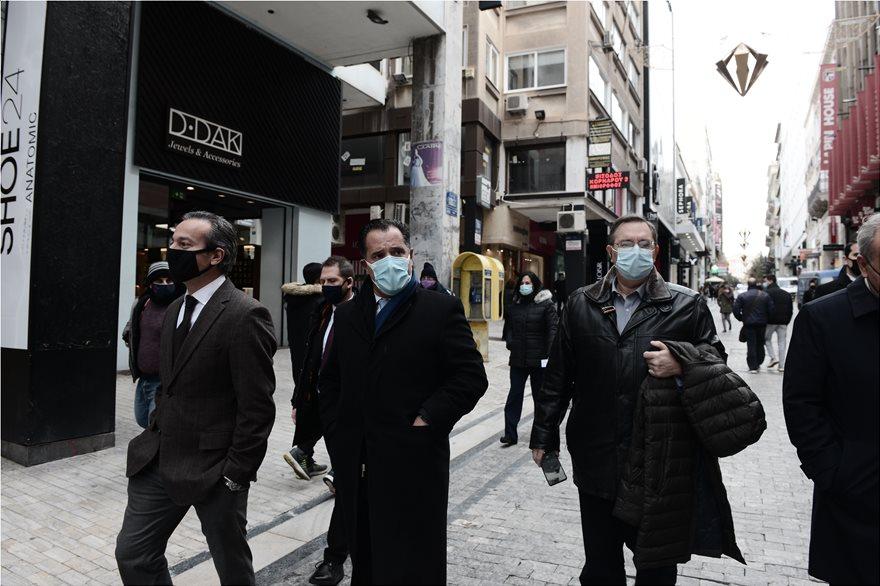 Λιανεμπόριο: Αυτοψία Γεωργιάδη – Παπαθανάση στην Ερμού
