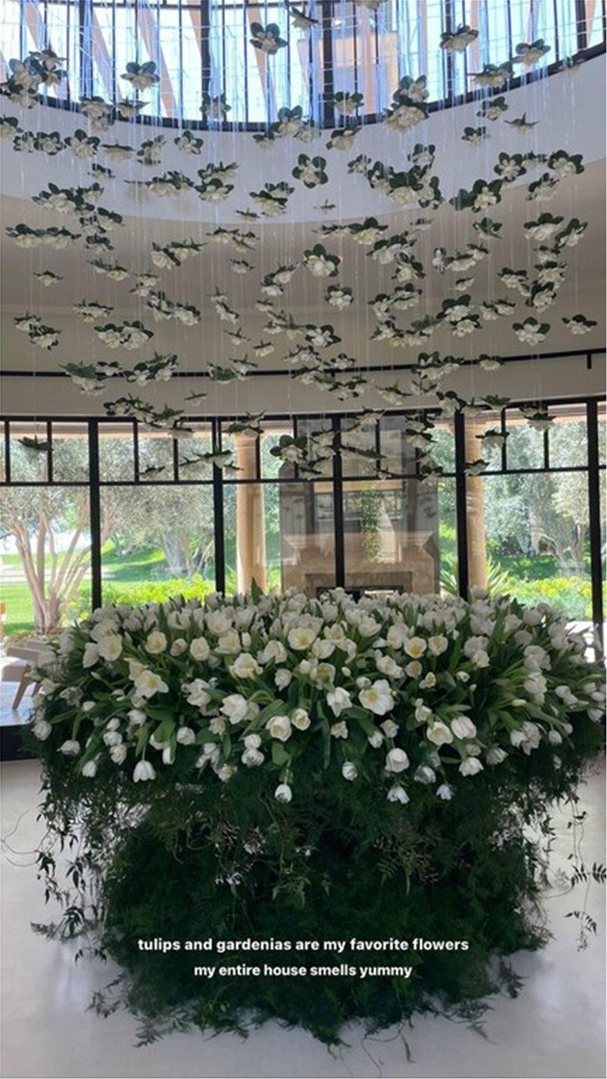 kourtneykardashian_flowers