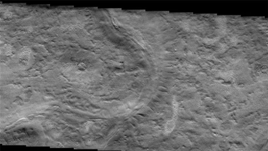 Πλανήτης Άρης: Βρέθηκαν «κύματα» παγετώνων σε πεδινό έδαφος