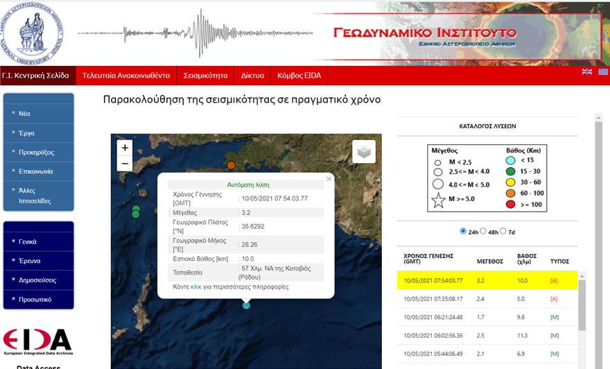 seismostora-rodos earthquake