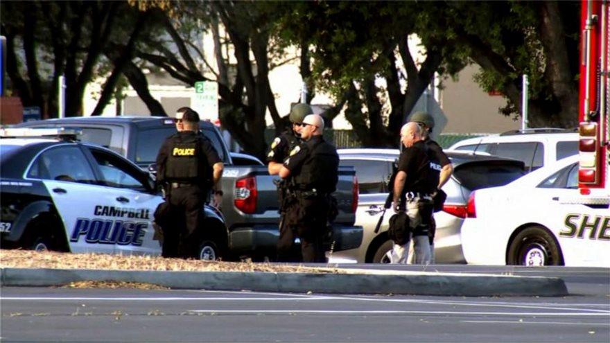 Μακελειό στις ΗΠΑ: Οκτώ νεκροί, Μακελειό στις ΗΠΑ: Οκτώ νεκροί κοντά στο αεροδρόμιο του Σαν Χοσέ, Eviathema.gr | Εύβοια Τοπ Νέα Ειδήσεις