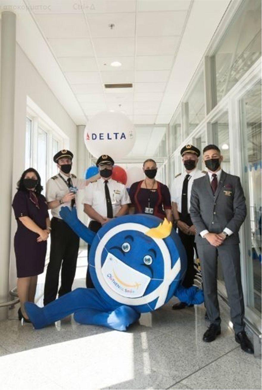 Delta AirLines: Έφτασε στην Ελλάδα η πρώτη απευθείας πτήση από ΗΠΑ, φωτογραφία-1